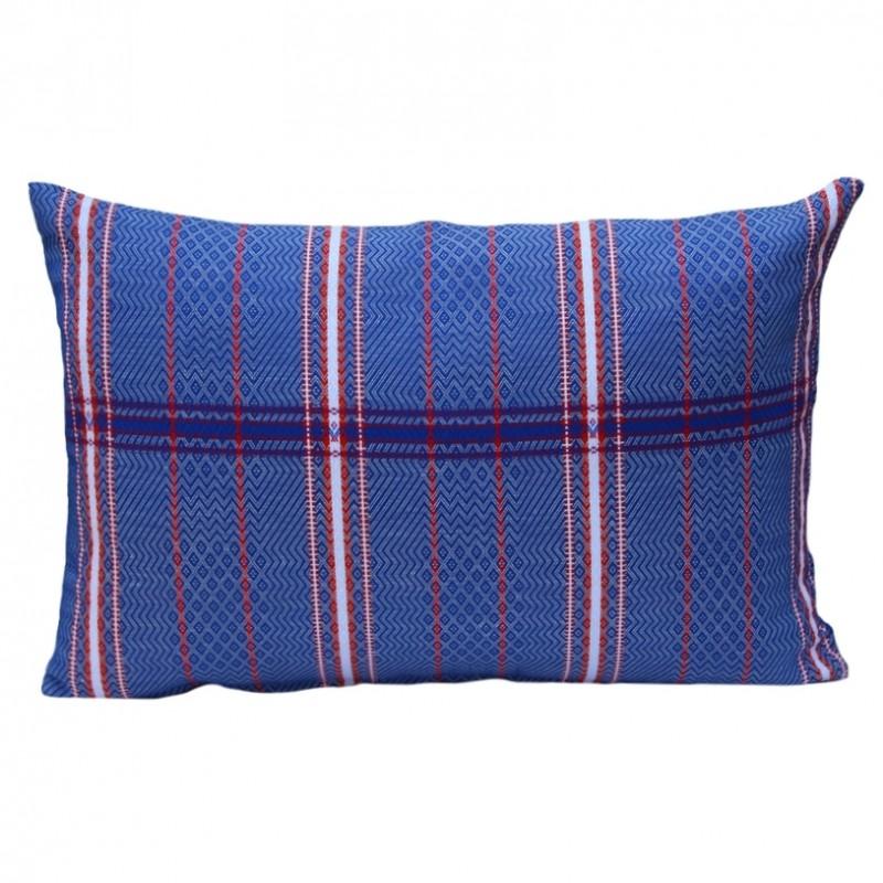 housse de coussin d 39 ext rieur rectangulaire felix bleu. Black Bedroom Furniture Sets. Home Design Ideas