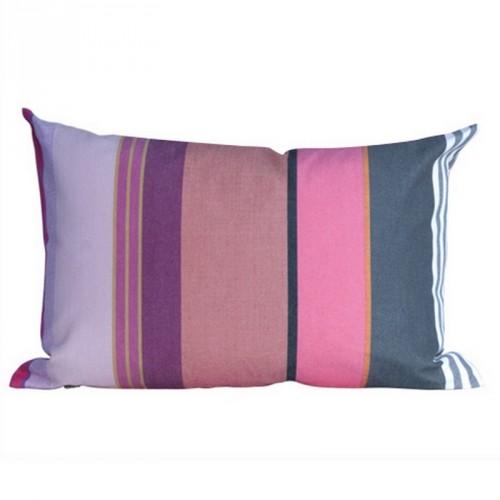 Housse de coussin d'extérieur rectangulaire Pivoine multicolore Tissage de Luz