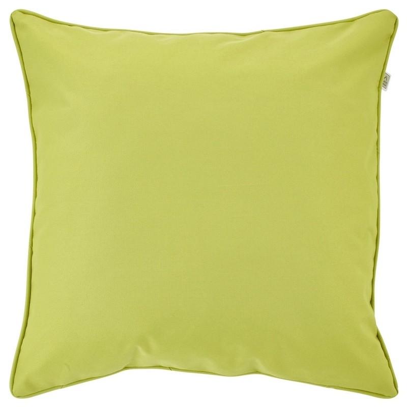 Housse de coussin d'extérieur carrée Sunny vert citron Dutch Decor