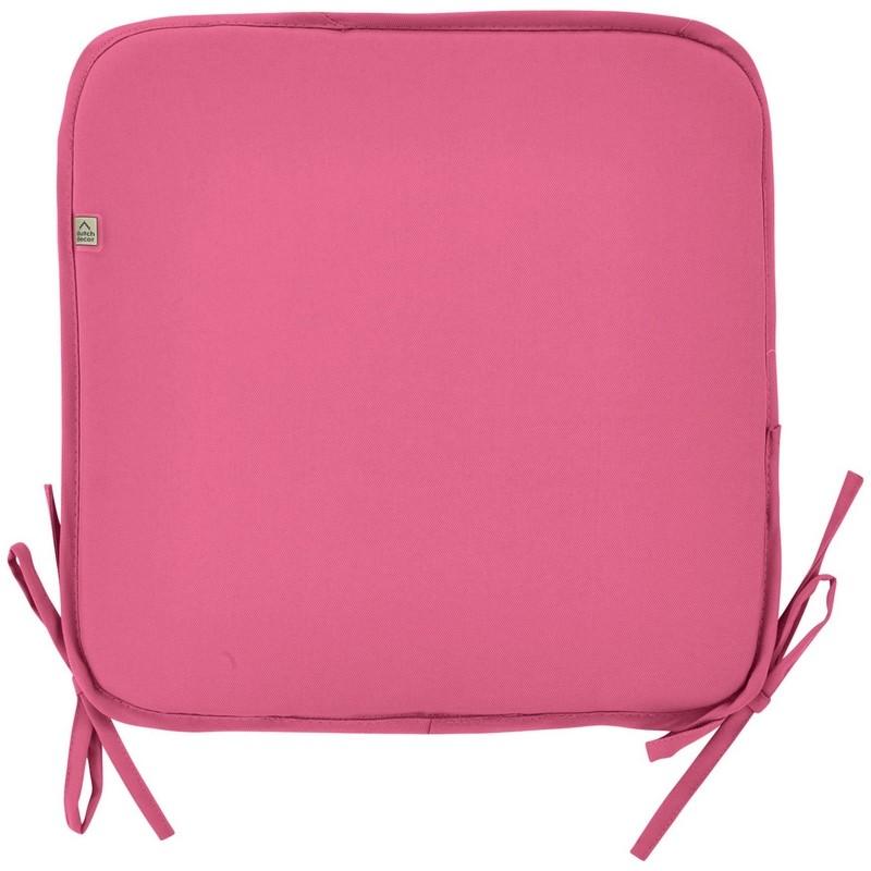 galette de chaise d 39 ext rieur sunny rose fuchsia dutch decor coussins shop. Black Bedroom Furniture Sets. Home Design Ideas