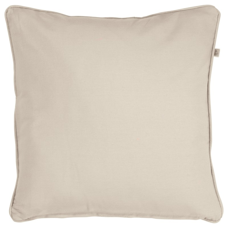 Housse de coussin carré sable Dutch Decor