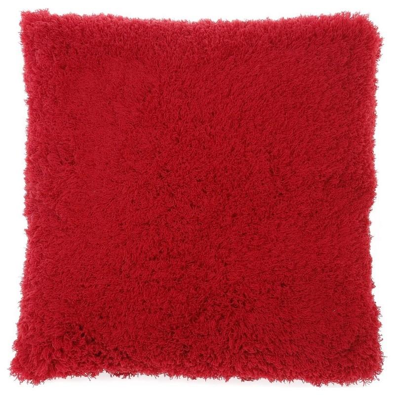 housse de coussin tout doux gaia rouge dutch decor coussins shop. Black Bedroom Furniture Sets. Home Design Ideas