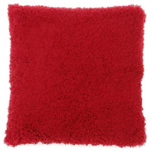 Housse de coussin carrée Gaia rouge Dutch Decor